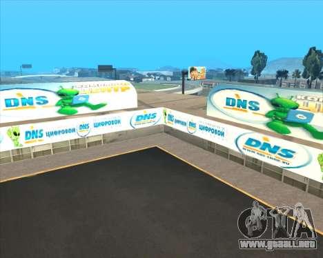 Reemplazo de publicidad (banners) para GTA San Andreas octavo de pantalla