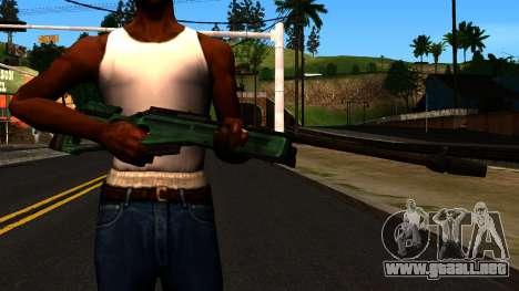 El SV-98 sin el Bípode y el Alcance para GTA San Andreas tercera pantalla