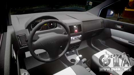 Hyundai Getz 2006 for ENB para GTA 4 vista interior