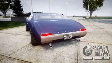 Classique Stallion Tuning para GTA 4 Vista posterior izquierda