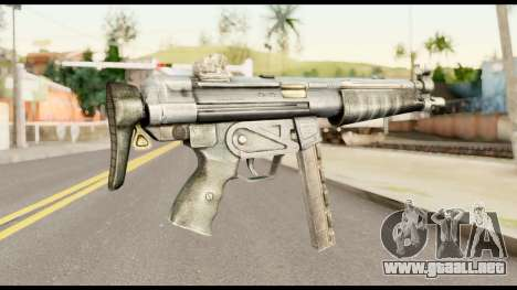 MP5 con la Culata Plegada para GTA San Andreas segunda pantalla