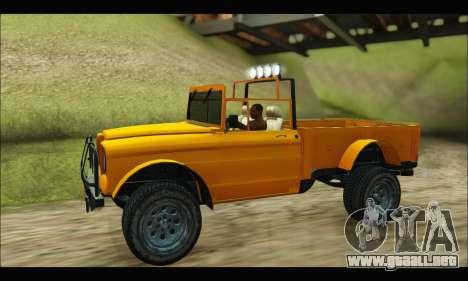 Canis Bodhi (GTA V) para la visión correcta GTA San Andreas