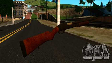 De madera MP-133 Sin Brillo para GTA San Andreas segunda pantalla