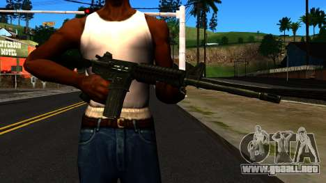M4 from GTA 4 para GTA San Andreas
