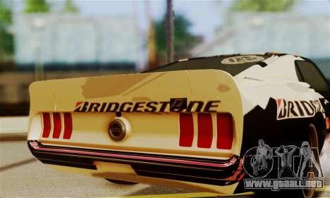 Ford Mustang RTR RedBull para la visión correcta GTA San Andreas