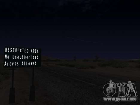 Real California Timecyc para GTA San Andreas sexta pantalla
