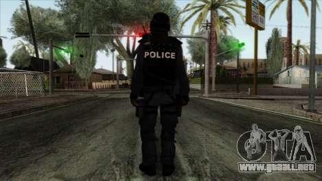 Police Skin 12 para GTA San Andreas segunda pantalla