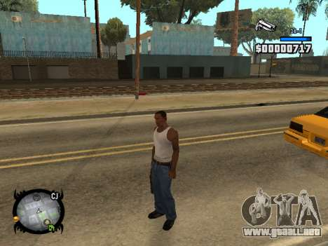 HUD by LMOKO para GTA San Andreas segunda pantalla