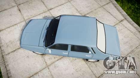 Dacia 1300 v2.0 para GTA 4 visión correcta