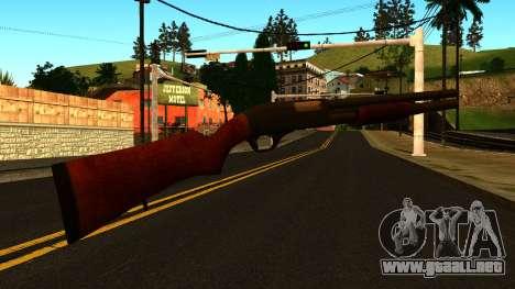 De madera MP-133 con Glitter para GTA San Andreas tercera pantalla