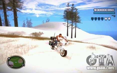 HUD GOSKA para GTA San Andreas segunda pantalla