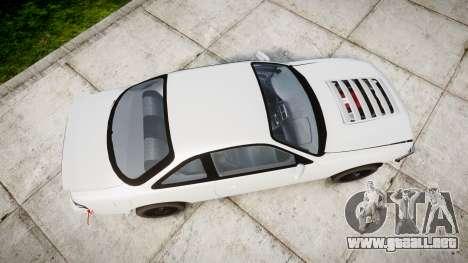 Nissan Silvia S14 Missile para GTA 4 visión correcta