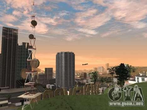 Real California Timecyc para GTA San Andreas décimo de pantalla