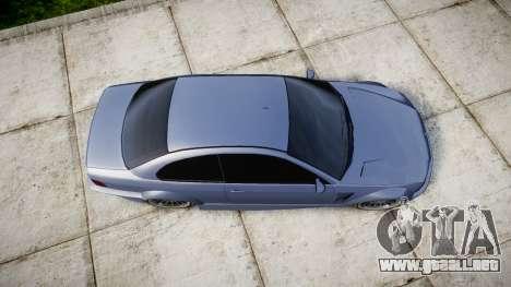 Ubermacht Sentinel M3 para GTA 4 visión correcta