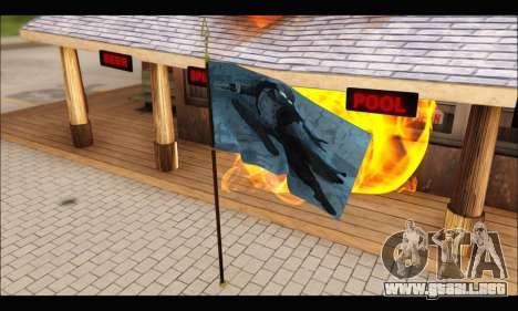 Flag Spiderman Noir para GTA San Andreas segunda pantalla