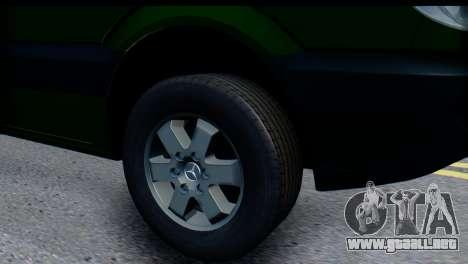 Mercedes-Benz Sprinter De La Banca Privada para la visión correcta GTA San Andreas