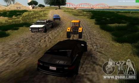 Nuevas rutas de transporte para GTA San Andreas