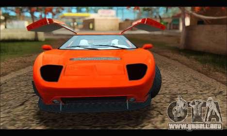 Vapid Bullet Gt (GTA IV TBoGT) (IVF) para visión interna GTA San Andreas
