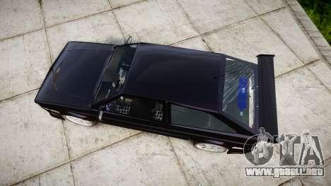 Volkswagen Gol GTI para GTA 4 visión correcta