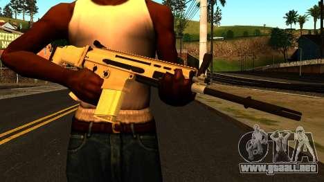 FN SCAR-H from Medal of Honor: Warfighter para GTA San Andreas tercera pantalla