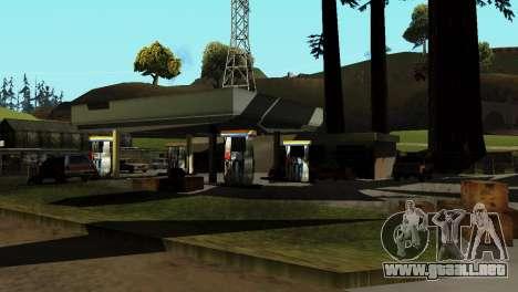 La recuperación de las estaciones de San Fierro para GTA San Andreas quinta pantalla