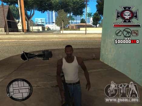 C-HUD for Ghetto para GTA San Andreas tercera pantalla