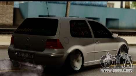 Volkswagen Golf 4 Tuning para GTA San Andreas