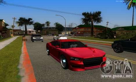 Nuevas rutas de transporte para GTA San Andreas tercera pantalla