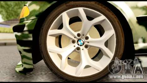 BMW M3 E46 TSK para GTA San Andreas vista posterior izquierda