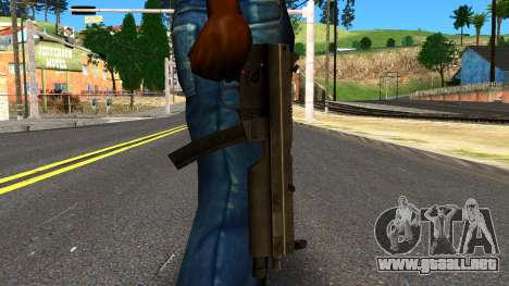 MP5 from GTA 4 para GTA San Andreas