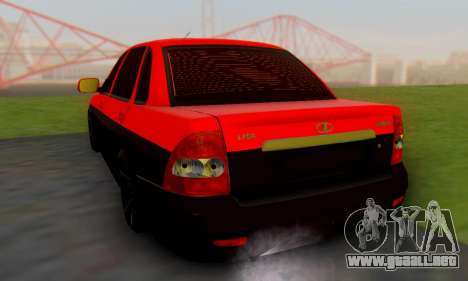 Lada Priora Glers Project para GTA San Andreas left