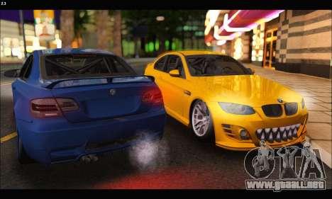 BMW M3 GTS 2010 para la visión correcta GTA San Andreas