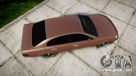 GTA V Karin Intruder Tuning Rims para GTA 4 visión correcta