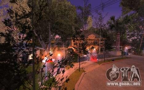New Grove Street 50 para GTA San Andreas segunda pantalla