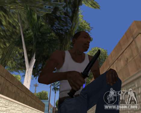HD Weapon Pack para GTA San Andreas tercera pantalla