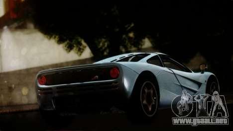 McLaren F1 Autovista para GTA San Andreas left