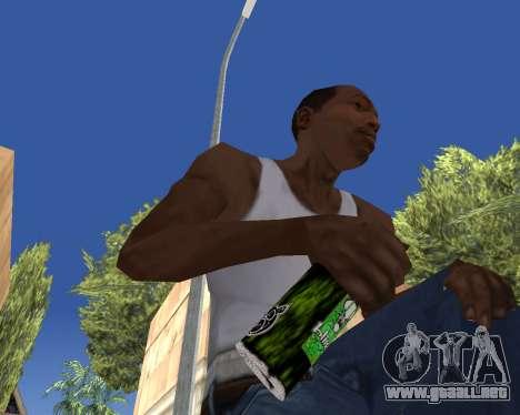 HD Weapon Pack para GTA San Andreas décimo de pantalla