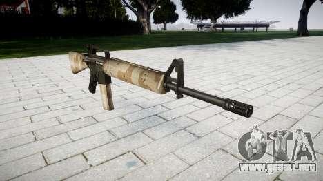 El rifle M16A2 nevada para GTA 4