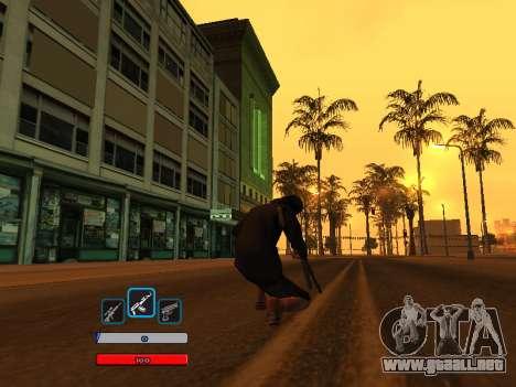 C-HUD by Fawkes (Fix) v2 para GTA San Andreas segunda pantalla