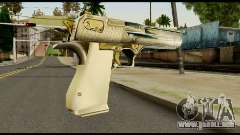 Desert Eagle from Max Payne para GTA San Andreas segunda pantalla