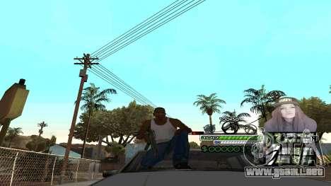 C-HUD Obey para GTA San Andreas segunda pantalla