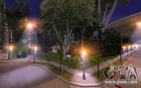 New Grove Street 50 para GTA San Andreas quinta pantalla