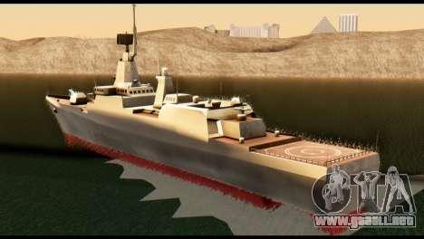 Admiral Sergey Gorshkov para GTA San Andreas left