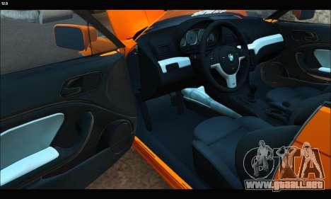 BMW e46 Sedan para la visión correcta GTA San Andreas