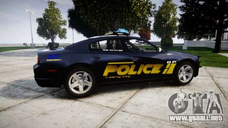 Dodge Charger RT 2013 LCPD [ELS] para GTA 4 left