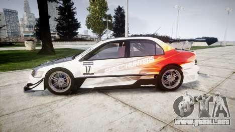 Mitsubishi Lancer Evolution IX HQ para GTA 4 left