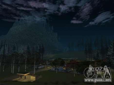 Real California Timecyc para GTA San Andreas segunda pantalla