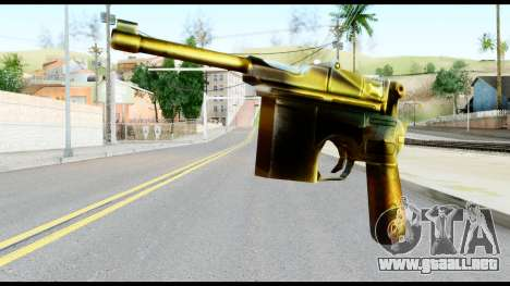 Mauser from Metal Gear Solid para GTA San Andreas