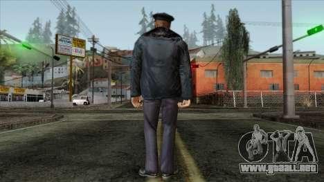 Police Skin 11 para GTA San Andreas segunda pantalla