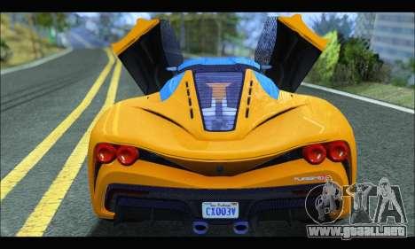 Grotti Turismo R v2 (GTA V) (IVF) para la visión correcta GTA San Andreas